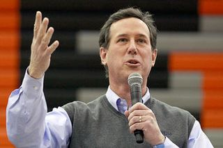 Rick santorum iowa