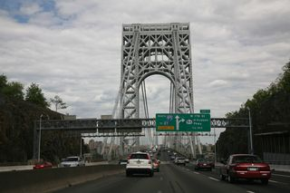 George_Washington_bridge_approach