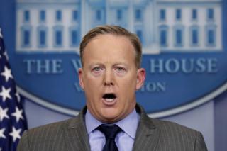 Spicer talks